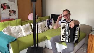 EV Evolve 30M Säule mit STmusic.at Bluetooth-MIDI und Turbosounds-App Test