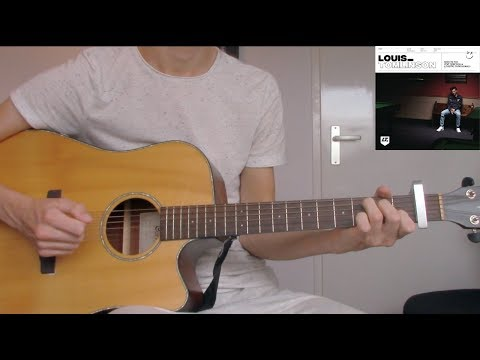 Louis Tomlinson - Back To You (Guitar Cover) (With Chords) Ft. Bebe Rexha