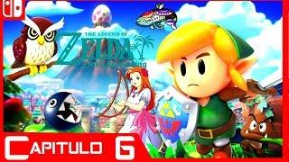 Zelda Link's Awakening: Desierto de Yarna - Guia - Capitulo 6 - Panal, Llave Abisal y Canción Marin.mp3