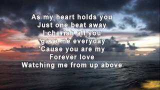 To Where You Are - Josh Groban - With Background Words