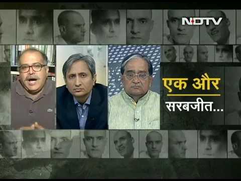 Prime time10.4.17Ravish: Will kulbhushan jadhavs, a Indian, caught by Pakistan, death sentence-avert
