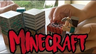 Histórias com bonecos do MINECRAFT! Parte 1