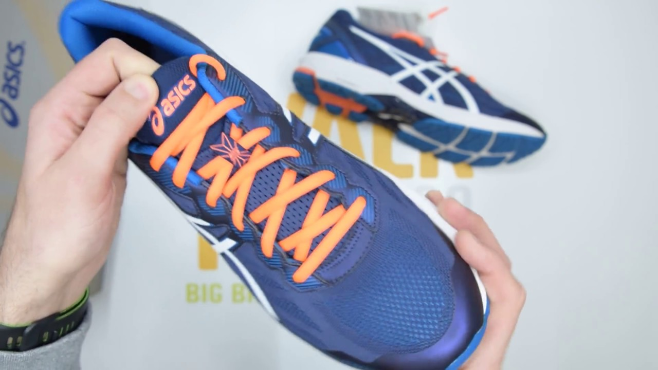 7a48552afab ASICS GT-1000 5 - Blue / Orange - Unboxing | Walktall