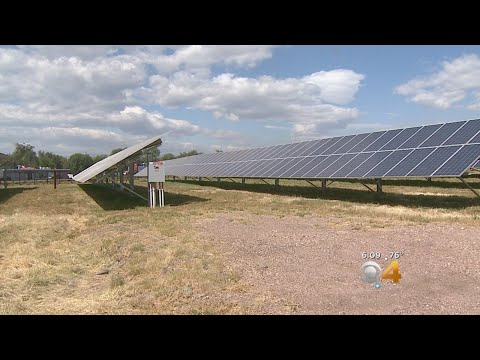 Solar Farm Helps Provide Energy For Growing City