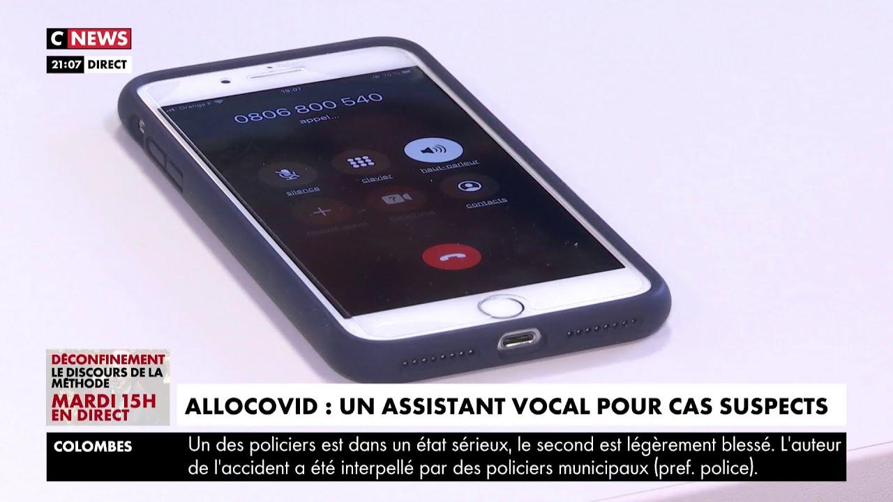 AlloCovid, un assistant vocal pour les cas suspects