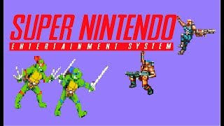 Top 50 of the best SNES 2 player Co-op games