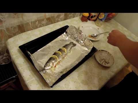 Как запечь форель в фольге в духовке, рецепт