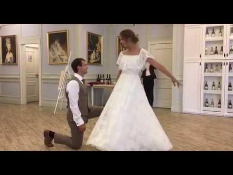 Медленный свадебный вальс!