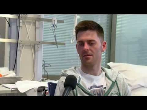 Robbie McNamara interview from hospital