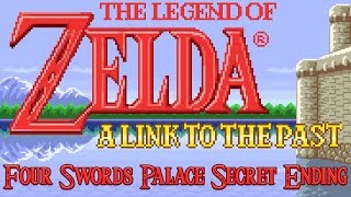 Legend of Zelda: A Link to the Past - GBA - Four Swords Palace Secret Ending
