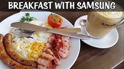 BREAKFAST WITH SAMSUNG- CHARLIE'S DAY OUT
