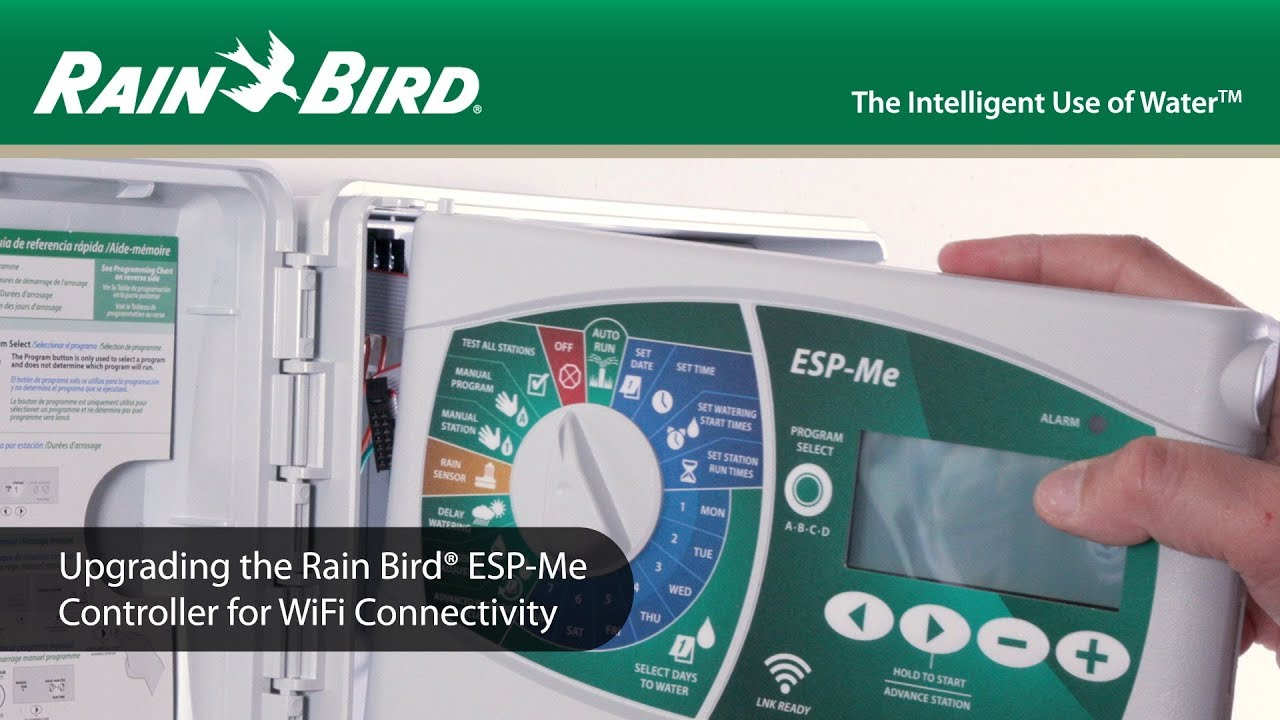 Upgrade Your Rain Bird ME Controller to WIFI Compatibility