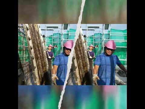 Nepali worker in hongkong construction   jungle guys