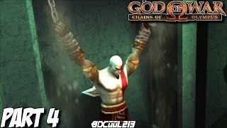 GOD OF WAR CHAINS OF OLYMPUS GAMEPLAY WALKTHROUGH PART 4 HADES & DEPTHS OF TARTARUS - PS3 LETS PLAY