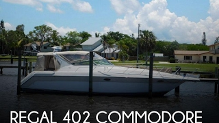 [SOLD] Used 1996 Regal 402 Commodore in Stuart, Florida