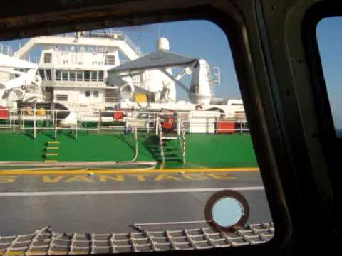 Desembarque do CGG Veritas Vantage (Agosto 09)