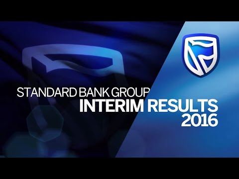 Standard Bank Group Interim Results 2016