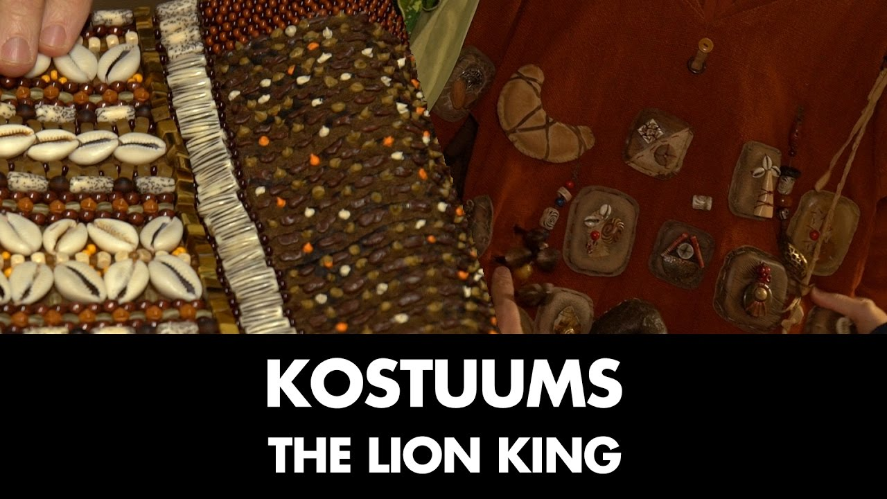 Kostuums Lion King.Behind The Scenes Kostuums The Lion King