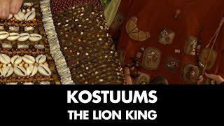 Behind the Scenes: Kostuums | The Lion King