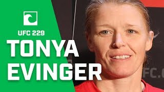 UFC 229's Tonya Evinger Believes Her Experience Will Get Her The Victory Over Aspen Ladd