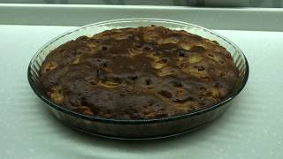 Шарлотка с яблоками на желтках и сметане Простой рецепт вкусной шарлотки