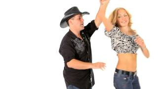 How to Do a Basic Ladies Outside Turn | Line Dancing