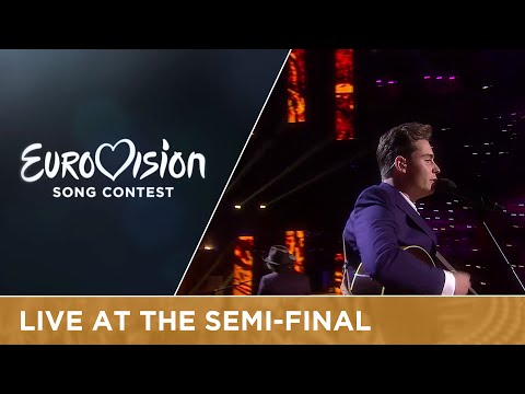 Douwe Bob - Slow Down (The Netherlands) Live at Semi - Final 1 of the Eurovision Song Contest