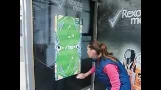 Интерактивный рекламный outdoor монитор Rexona men(Interactive touchscreen outdoor lcd monitor bus stop. Интерактивные рекламные touch screen LCD мониторы уличного использования впервые..., 2012-08-31T21:56:24.000Z)