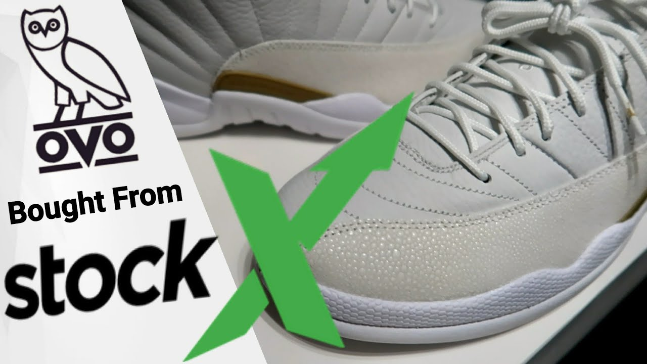 d0ae3331 I BOUGHT FROM STOCKX DRAKE'S AIR JORDAN 12 RETRO OVO WHITE | Unboxing &  First Thoughts/Review