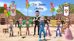 Purim Medley with Micha Gamerman (Official Animation Video)