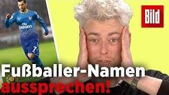 Shaqiri, James und Mkhitaryan - Wie werden diese Fußballer-Namen ausgesprochen?