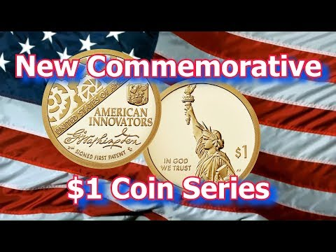 US Mint Releases New American Innovators Commemorative $1 Coins