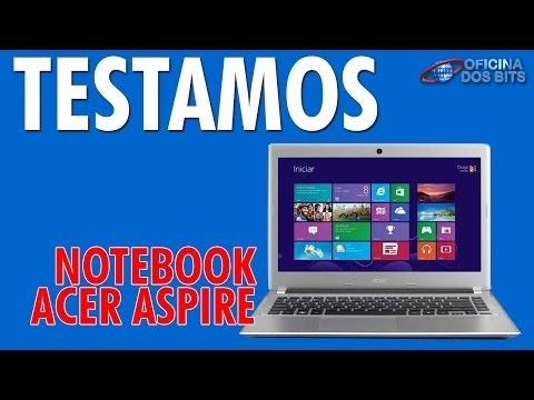 Oficina dos Bits Review - Acer Aspire V5 i7