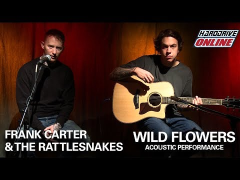FRANK CARTER & THE RATTLESNAKES - WILD FLOWERS acoustic performance