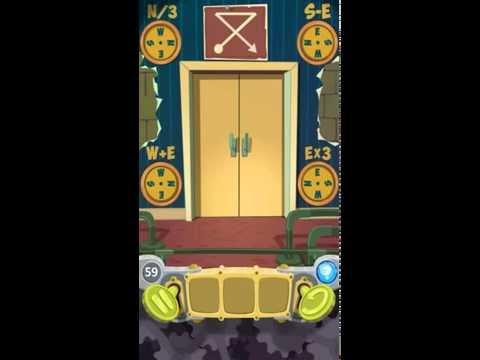 100 Doors Cartoon Level 59 Walkthrough Solution