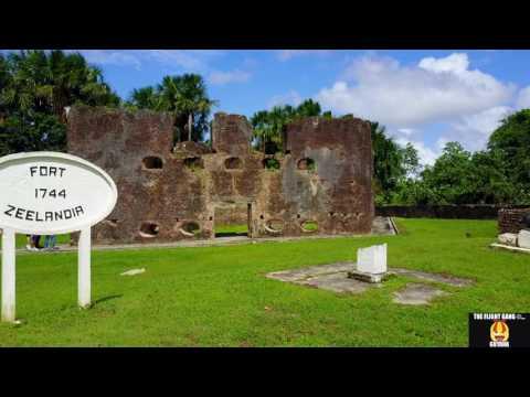 Dr Manic Pro in Guyana Fluvial Island at Fort Zeelandia