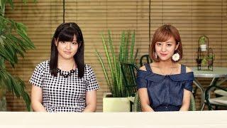 今回のMCは℃-ute萩原舞とモーニング娘。'14鈴木香音! 7/16発売℃-ute新...