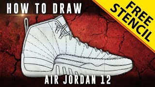 How To Draw: Air Jordan 12