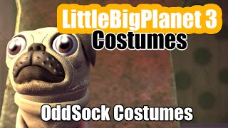 OddSock Costumes in Little Big Planet 3 (LBP3 Costumes)