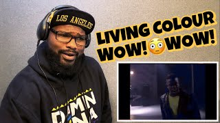 LIVING COLOUR - CULT OF PERSONALITY | REACTION