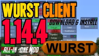 Download lagu How to get Wurst Client for Minecraft 1 14 4 downloadinstall Wurst Client 1 14 4 MP3