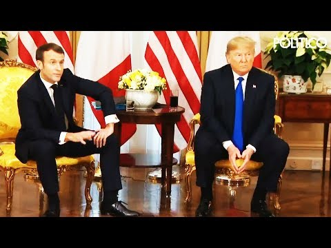 SHOCK: French President Speaks Better English Than Trump