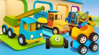 Мультики про машинки МАШИНЫ ПОМОЩНИКИ новая серия Магазин игрушек Сборник для детей