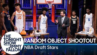 Random Object Shootout with NBA Draft Stars