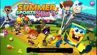Nick Summer Sports Stars - Bob Esponja, Tortugas Ninjas