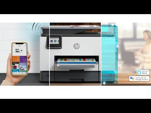 Hp Officejet Pro 9025 Unboxing Setup and Review