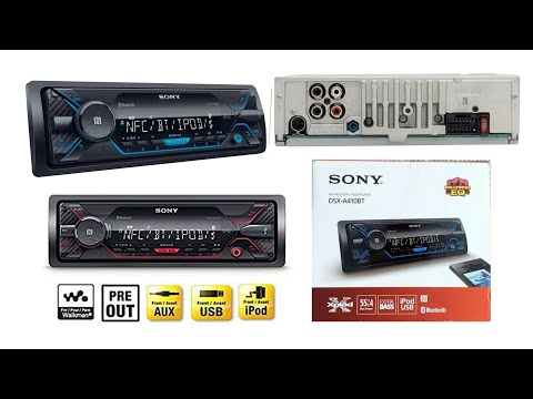 Sony dsx-A410bt car stereo unboxing and review Hindi FM/AM digital media player Bluetooth connect