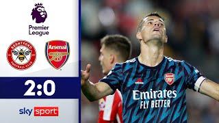 AUFSTEIGER Brentford schockt Arsenal | FC Brentford - FC Arsenal 2:0