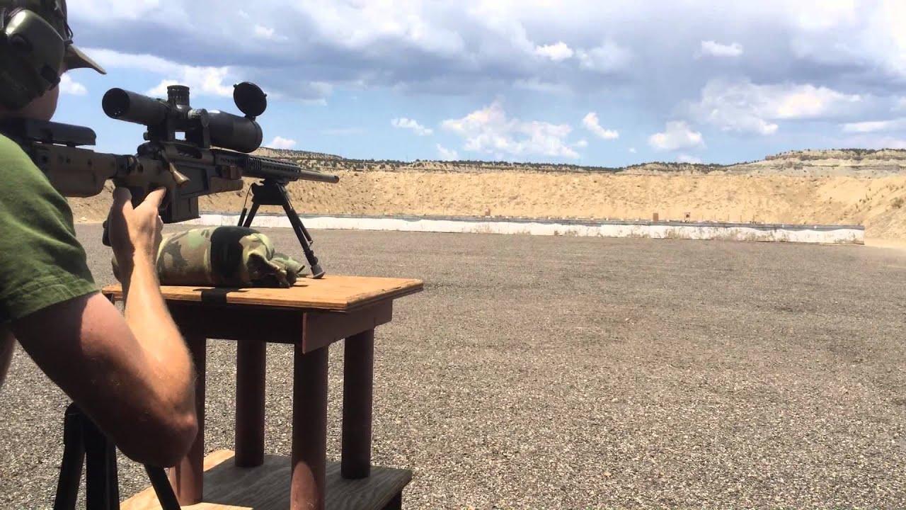Sniper training, shooting running targets 7mm - 300 Win ...