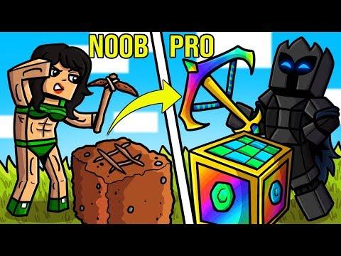 Minecraft: NOOB VS PRO!!! - ULTIMATE CRAFTING CHALLENGE! - Custom Modded Map